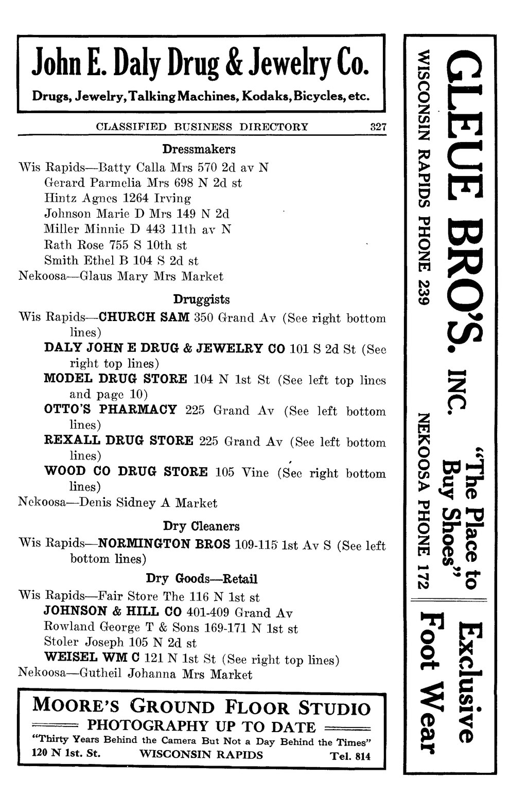 Page:Wisconsin Rapids directory (1921) djvu/329 - Wikisource, the
