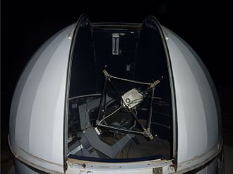 Israel Space Agency - The smaller 46cm Telescope in the Wise Observatory dome.