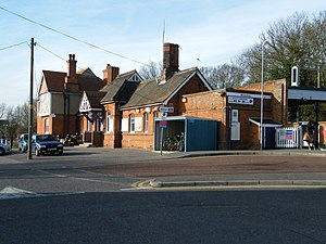 Wivenhoe railway station - Wivenhoe railway station in 2008