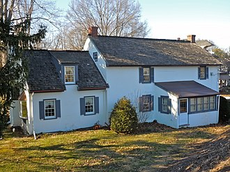 Limerick Township, Montgomery County, Pennsylvania - William and Mordecai Evans House, built 1763