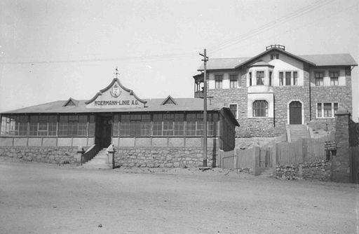 Woermannhaus Lüderitz 1910