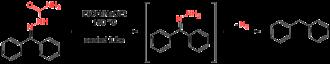 Wolff–Kishner reduction - Scheme 3. Wolff's conditions