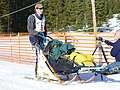 Woman Musher competing in Eagle Cap Dog Sledding Event, Wallowa Whitman National Forest (26528816250).jpg