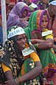 Women at farmers rally, Bhopal, M.P., India, 11-2005.jpg