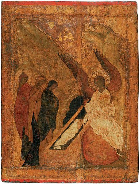 File:Women at the grave (1420s, Sergiev Posad).jpg