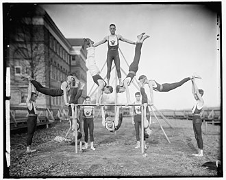 Woodberry Forest School - Woodberry Forest Gymnasium Team, ca. 1905, Library of Congress