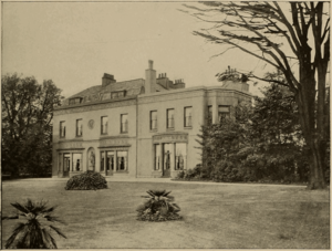 Alfred Yarrow - This photo of Woodlands House appeared in the November 1897 edition of Cassier's Magazine as part of an article about Alfred Yarrow.