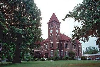 Augusta, Arkansas - Woodruff County courthouse in Augusta