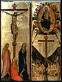 Workshop of Jacopo del Casentino - The Last Judgment and the Crucifixion - Walters 37722.jpg
