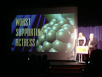 Golden Raspberry Awards - Worst Supporting Actress at the 29th Golden Raspberry Awards.