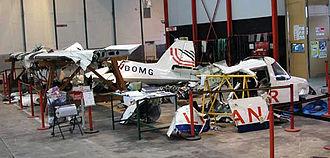 Britten-Norman BN-2 Islander - 2005 Loganair Islander accident Wreckage
