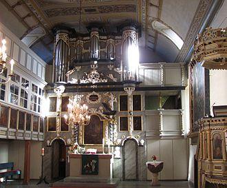 Westfeld - Image: Wrisbergholzen Igreja 2