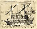 XXVII. Triremes seu Galiottae et Fustae Iavenenfium. 21. (A typical Javanese man-of-war ship).jpg