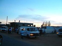 Uma cena de rua em Xai-Xai