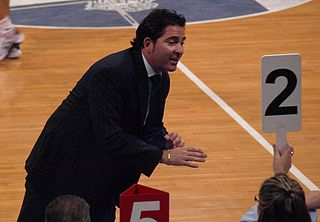 Spanish professional basketball coach