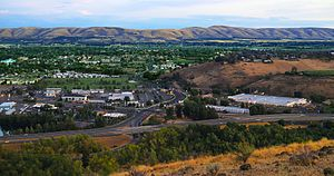 Yakima as viewed from Lookout Point