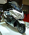 Yamaha TMAX 10th Anniversary WHITEMAX at the TMS 2009-1.jpg