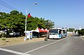 Yellow Line Shuttle Bus Stop in Zuoying Naval Base 20141123.jpg