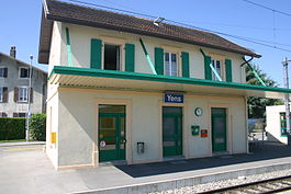 Yens - Yens train station