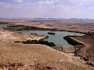 HaBesor Stream - Yeruham Reservoir