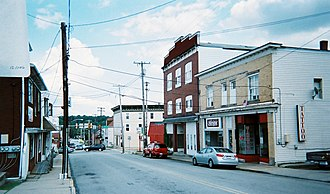 Youngwood, Pennsylvania - Youngwood business district (Depot Street)
