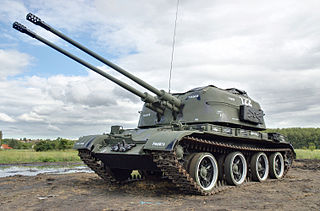 ZSU-57-2 Self-propelled anti-aircraft gun