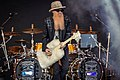 ZZ Top on the Pyramid Stage at Glastonbury 2016 IMG 8545 (27909928651).jpg