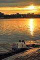 Zachód słońca na nabrzeżu Angary w Irkucku 08.JPG