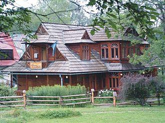 Karol Szymanowski - Villa Atma, Szymanowski's house in Zakopane, now the Karol Szymanowski Museum
