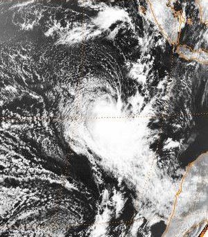 1998–99 Australian region cyclone season - Image: Zelia 8 October 1998