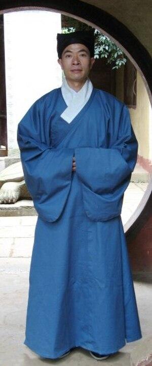 Zhiduo (clothing) - Zhiduo (直裰) - casual wear for men