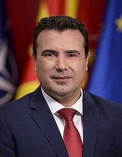 Zoran Zaev Prime Minister of North Macedonia