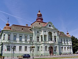 Zrenjanin City Hall building, Serbia.jpg
