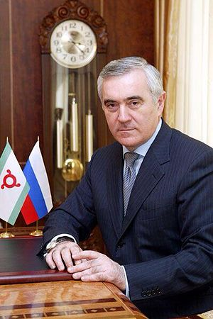 Murat Zyazikov - Image: Zyazikov Murat Magometovitch ex president of Ingushetia republic of Russia
