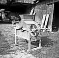 """""""Malən za ušen delat"""" (mlin), napravili so ga ruski vojni ujetniki 1915-16, Podboršt 1950.jpg"""