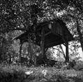 """""""Sušivna"""" (sušilna) jama za lanišče in za sadje, Trnovica, pri Jakopu 1950.jpg"""