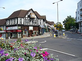 """Top of the Town"", Guildford - geograph.org.uk - 239267.jpg"