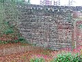'Herringbone' walling, Tamworth Castle - geograph.org.uk - 1740974.jpg