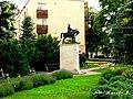 Árpád vezér szobra (Adorjáni Endre, 1996), Sarkad.jpg