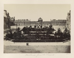Édouard Baldus, Tuileries from the Louvre, between 1851 and 1870 - Library of Congress.tif