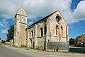 Église Notre-Dame d'Estrées-la-Campagne (Quesnay). Vue sud-est.jpg