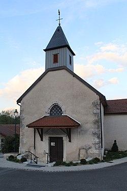 Église St Maurice Craz Injoux Génissiat 1.jpg