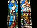 Église de saint sixte vitraux de l'Annonciation.JPG