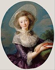 The Vicomtesse de Vaudreuil