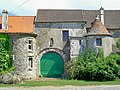 Épinay-Champlâtreux (95), ferme de Trianon, portail.jpg