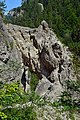 Ötschergräben - 02 - Lassingschlucht - Weg durch einen Felsdurchbruch.jpg