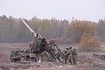 """Бойові стрільби артилерійських підрозділів на полігоні """"Дівички"""" (30686766205).jpg"""