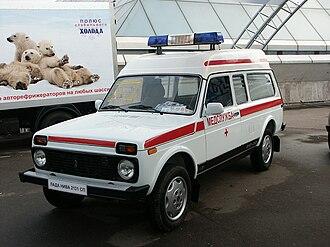 Lada Niva - Lada Niva 2131СП ambulance