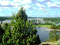 Вид на ладожские шхеры с Шапки. - panoramio.jpg