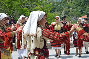 Galičnik Wedding Festival - Traditional dance at Galičnik Wedding